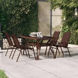 vidaXL Láminas autoadhesivas muebles 2 uds PVC rojo 500x90 cm