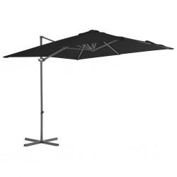 Avento Pelota de fitness/gimnasio 75 cm diámetro negra