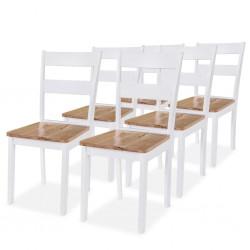 vidaXL Estantería 5 niveles madera maciza de mango 60x37x180 cm