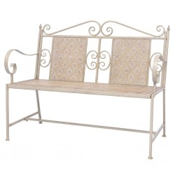 vidaXL Lámpara colgante industrial redonda mango 25 W blanco 52 cm E27
