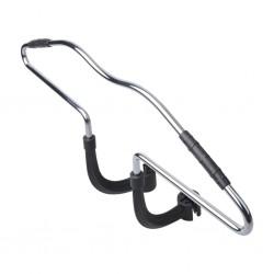 vidaXL Lámpara colgante industrial redonda mango 25 W cobre 42 cm E27