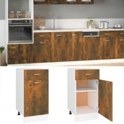 vidaXL Lámpara colgante industrial redonda mango 25 W gris 42 cm E27