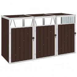 vidaXL Caja de llaves con tablero magnético blanca 30x20x5,5 cm