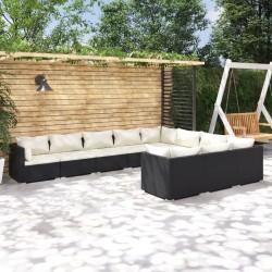 4 fundas color antracita para cojines de imitación de lino, 50 x 50 cm