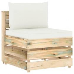 vidaXL Cajas de almacenaje 4 uds textil no tejido 28x28x28 cm negro