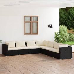 4 fundas color antracita para cojines de imitación de lino, 80 x 80 cm
