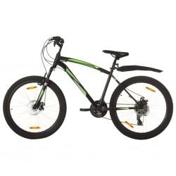 vidaXL Cajas de almacenaje 4 uds textil no tejido 28x28x28 cm azul