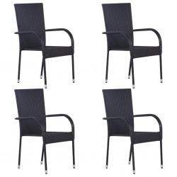 vidaXL Cajas de almacenamiento con tapa 10 uds 28x28x28cm rojo oscuro