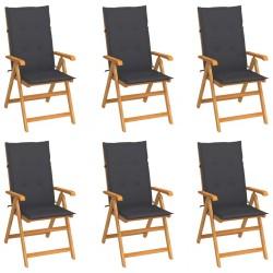 vidaXL Cajas de almacenaje 4 uds textil no tejido 28x28x28 cm rosa