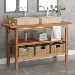 vidaXL Cajas de almacenamiento con cubiertas 4 uds 28x28x28 cm blanco