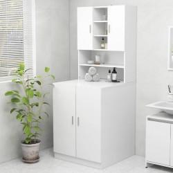 vidaXL Cajas de almacenaje 10 uds textil no tejido 28x28x28 cm blanco