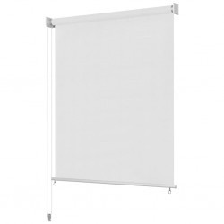 vidaXL Caja de almacenaje 4 uds textil no tejida 28x28x28cm crema