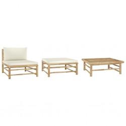 vidaXL Caja de almacenaje 10 uds textil no tejida 28x28x28cm crema