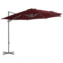 vidaXL Cajas de almacenamiento con tapa 10 uds 28x28x28cm rojo