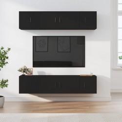 vidaXL Cajas de almacenaje 4 uds tela no tejido 28x28x28 cm azul bebé