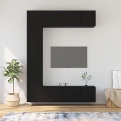 vidaXL Cajas de almacenamiento con tapas 10 uds 28x28x28 cm azul bebé
