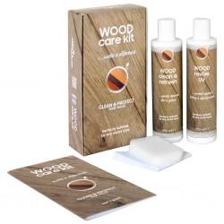vidaXL Lámpara de pie madera maciza de mango negro E27