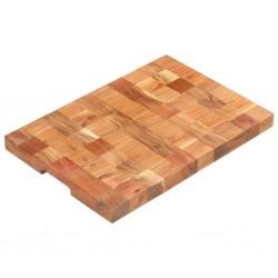 vidaXL Lámpara de pie madera maciza de mango blanca E27