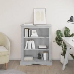 vidaXL Lámpara de pie de madera maciza de mango negro E27