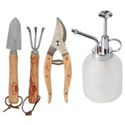vidaXL Lámpara de pie 3 uds madera maciza de mango negro E27