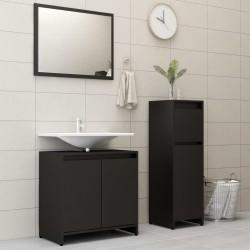 vidaXL Banco de acero inoxidable y terciopelo verde oscuro 97 cm