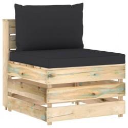 vidaXL Casas de ardilla 4 piezas madera de abeto