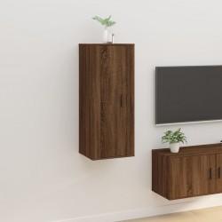 vidaXL Estantería de acero y MDF 80x40x180 cm azul