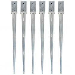 vidaXL Puerta de ducha ESG medio esmerilado 71x190 cm