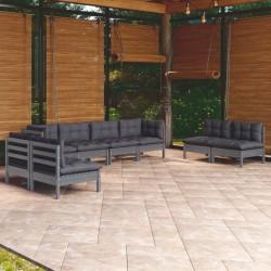 vidaXL Puerta de ducha ESG medio esmerilado 76x190 cm