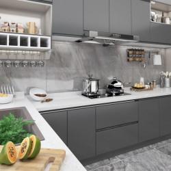 vidaXL Puerta de ducha ESG medio esmerilado 96x190 cm
