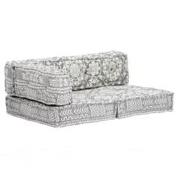 vidaXL Sillas de oficina 2 unidades cuero sintético amarillo