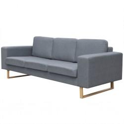 vidaXL Sillas de oficina 2 unidades cuero sintético naranja