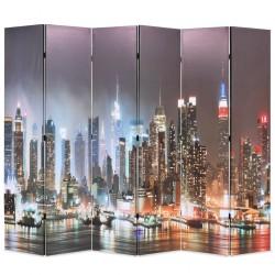 vidaXL Puerta de jardín de acero verde 400x100 cm
