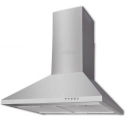 vidaXL Mesita de noche de madera de mango rugosa 50x40x40 cm