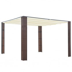 vidaXL Aparador de madera maciza de acacia 118x30x200 cm