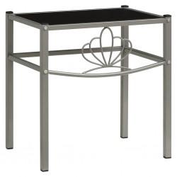 vidaXL Puerta de jardín de acero gris antracita 350x200 cm