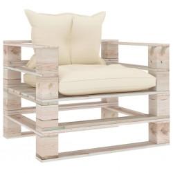vidaXL Puerta de jardín de acero verde 175x395 cm