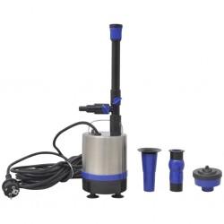 vidaXL Silla gaming de cuero sintético negro y azul