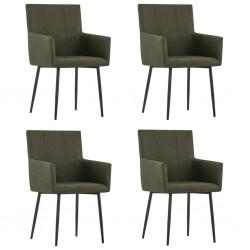 vidaXL Puerta de jardín de acero plateado 500x150 cm