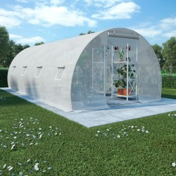 vidaXL Césped artificial 0,5x5 m/20 mm verde