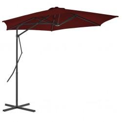 Funda elástica vidaXL de algodón para el sofá, color negra
