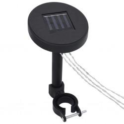 vidaXL Muebles de jardín 3 piezas ratán sintético y vidrio beige