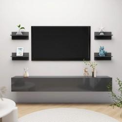vidaXL Puerta de jardín de acero negro 400x125 cm