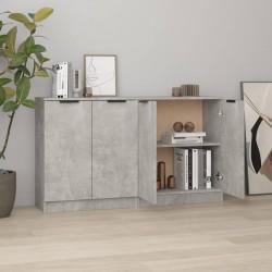 vidaXL Lámpara de techo industrial madera de mango plateado E27