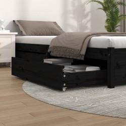 vidaXL Cortina de macramé algodón gris antracita 140x240 cm