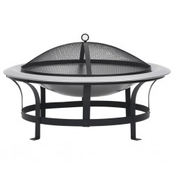 vidaXL Mesa y sillas de jardín 3 pzas ratán PE y vidrio templado negro