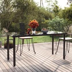 vidaXL Cubierta de piscina PE plateado 250 cm
