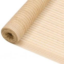 Funda elástica marrón vidaXL de tejido poliéster de punto para el sofá
