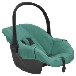 vidaXL funda elástica de tela acanalada para sofá color borgoña