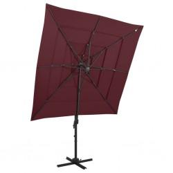 vidaXL funda elástica de tela acanalada para sofá color gris